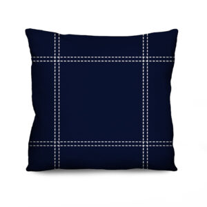 Almofada Estampada Sewed Azul