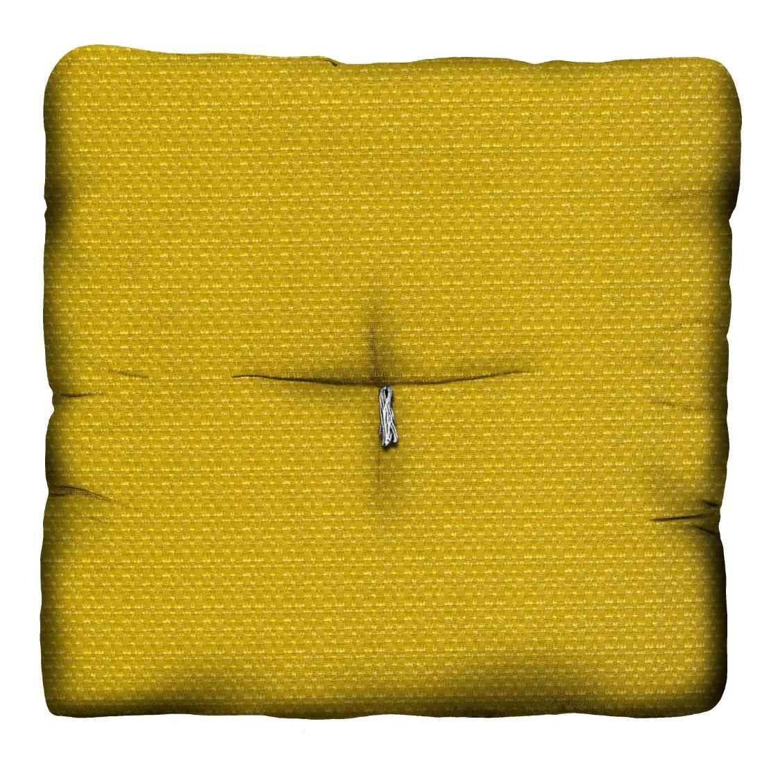 Almofada Futon Amarelo Ouro