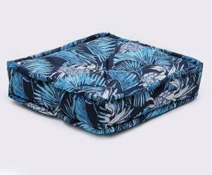 Almofada Futon Blue Amazon
