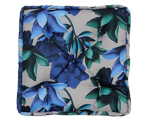 Almofada Futon Blue Garden