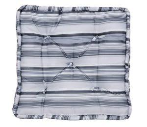 Almofada Futon Gray Stripes