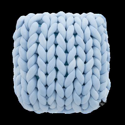 Almofada Tricot Cotton Azul