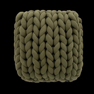 Almofada Tricot Cotton Verde