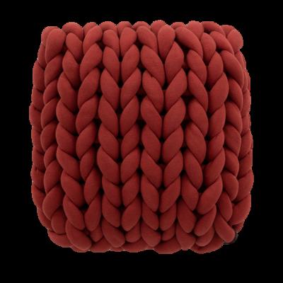 Almofada Tricot Cotton Vermelha