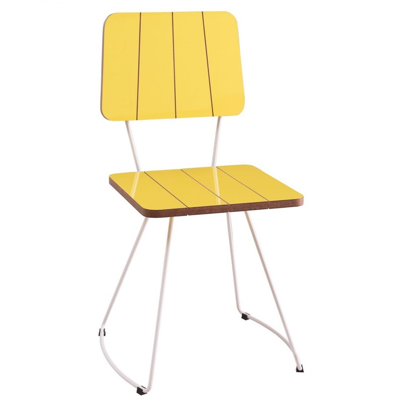Cadeira Costela Amarela