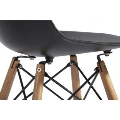 Cadeira Eames Eiffel Madeira