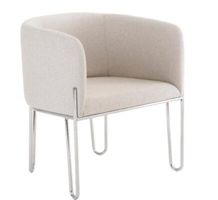 Cadeira MGA Base Cromada