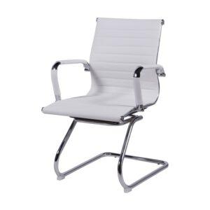 Cadeira de Escritório Cromo Fixa