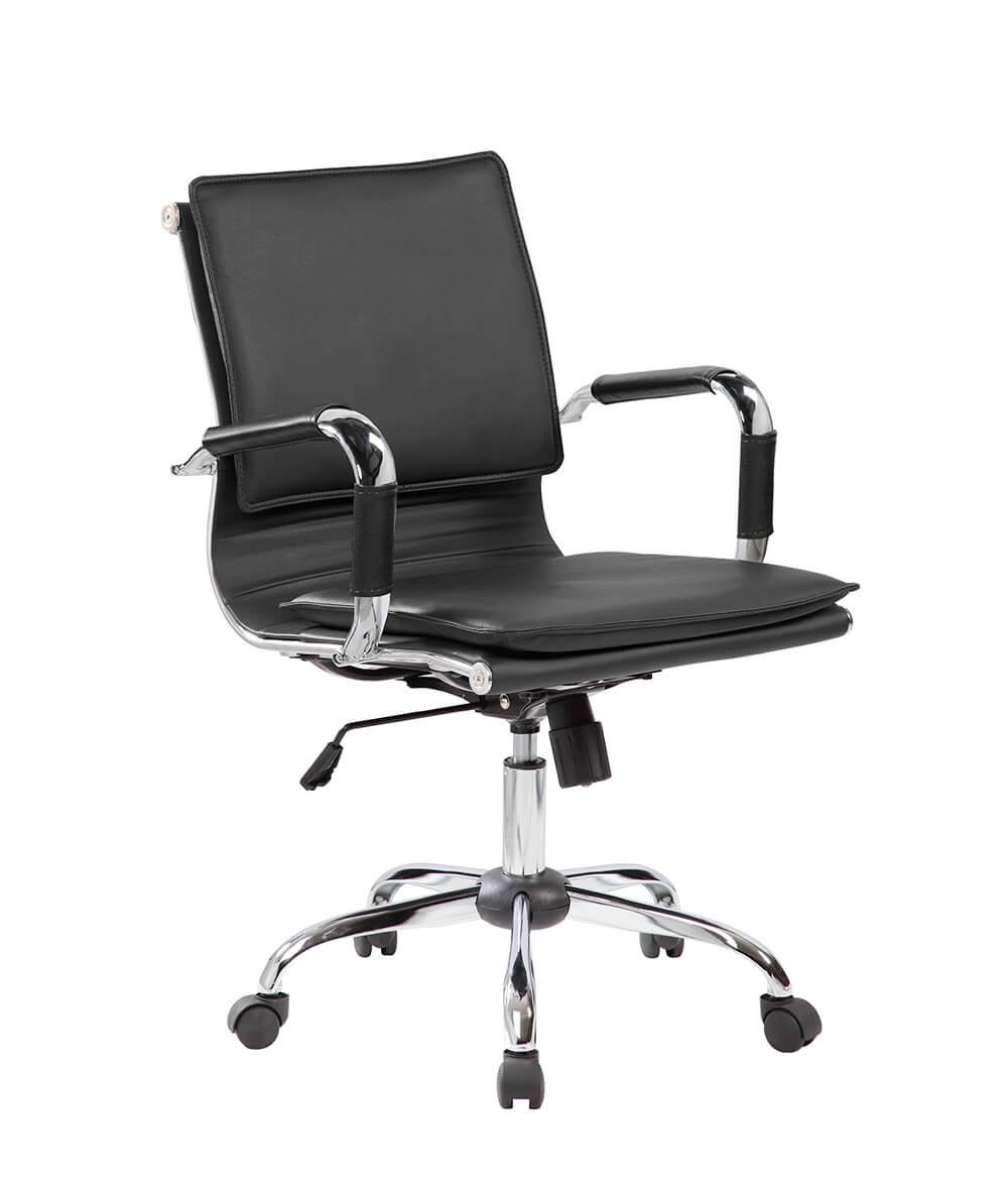 Cadeira de Escritório Esteirinha Soft Preta