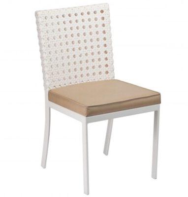 Cadeira para Área Externa Diamante com Estofado