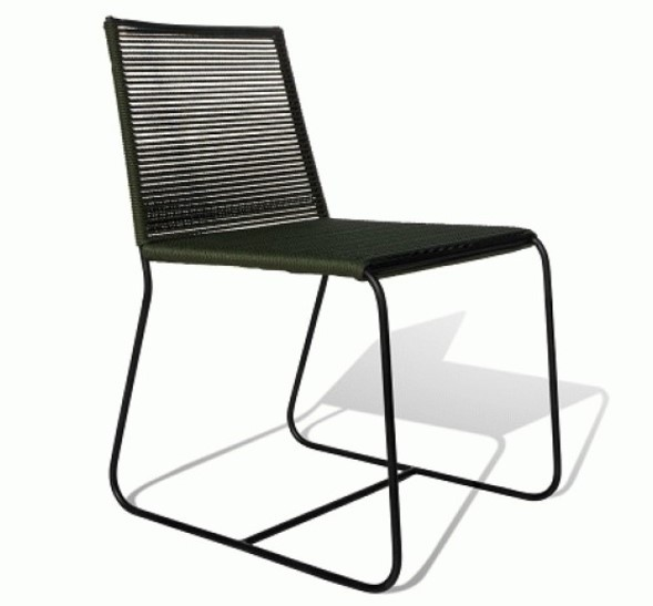 Cadeira para Área Externa Doha Sem Braço