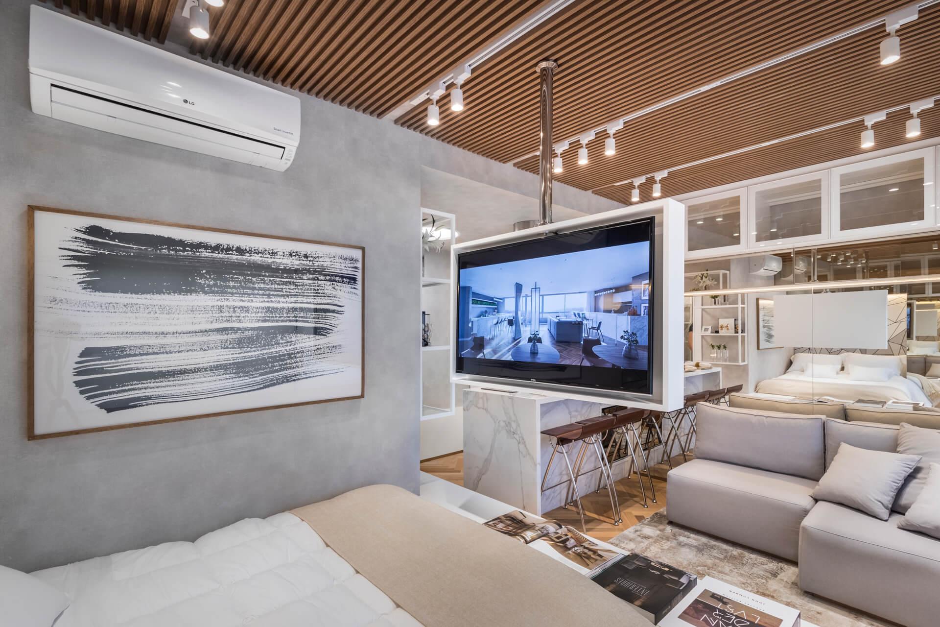 - Empreendimento: JP - Apartamento decorado (fotos: Gabriel Konrath -@gk.foto arq) - Projeto: ArquitetaCassia Kroeff@cassiacesconettokroeff