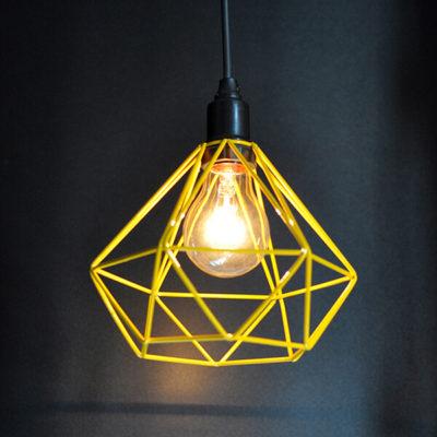 Luminária Pendente Diamante Colors