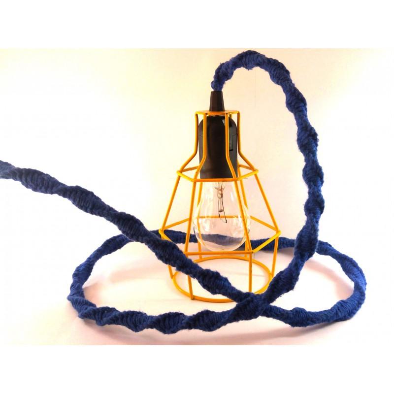 Luminária Pendente com Grade