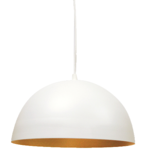 Luminária Pendente de Teto Bola Branca