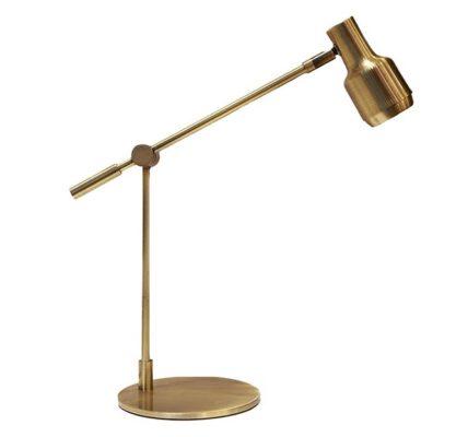 Luminária de Mesa Articulada Bronze Reach