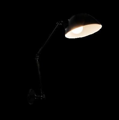 Luminária de Parede Arandela Baboo Preta