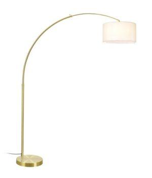 Luminária de Piso Arc Dourada