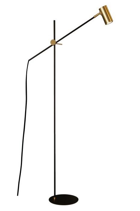 Luminária de Piso Coluna Articulada Euro