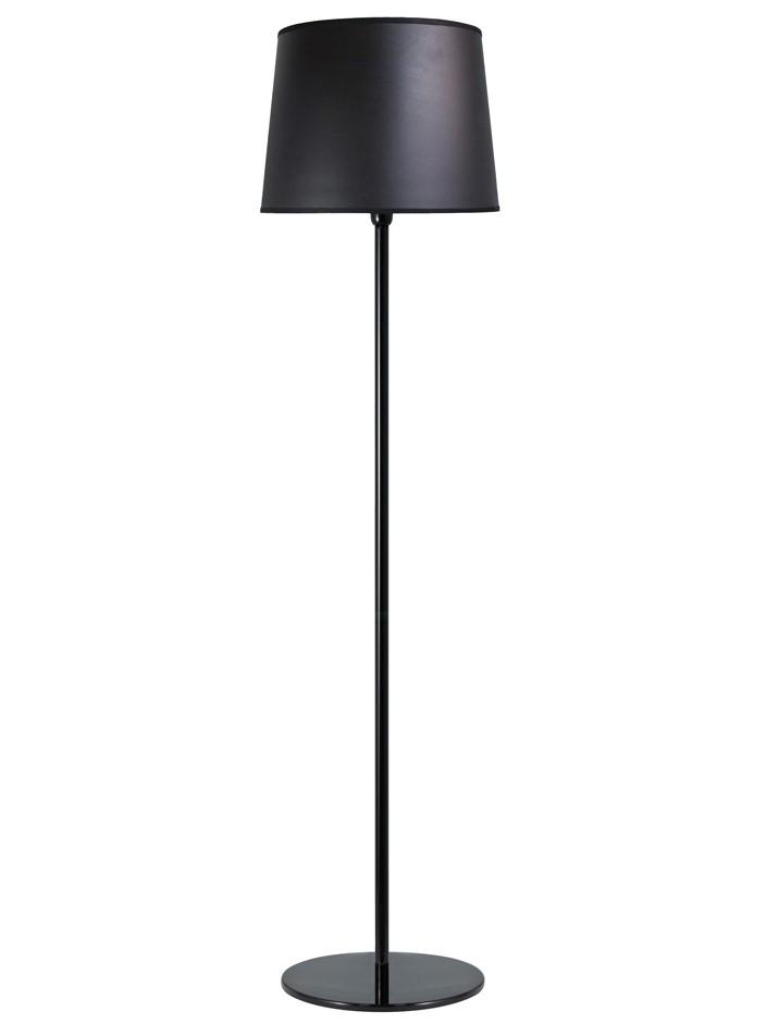 Luminária de Piso Coluna Castt Preta