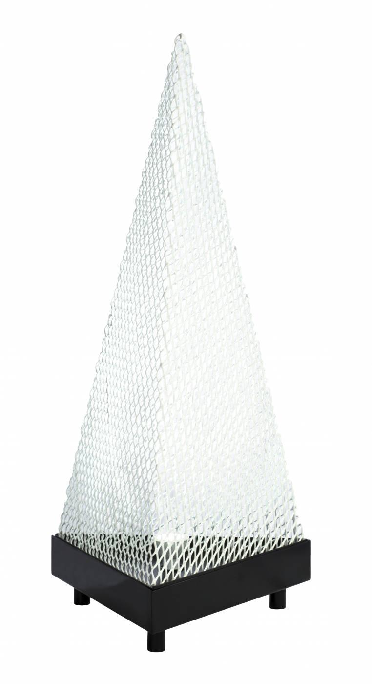 Luminária de Piso White Pirâmide