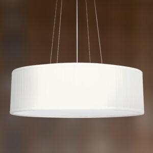Luminária de Teto Pendente Seda Branca