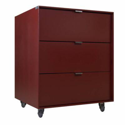 Mesa de Cabeceira Vermelho