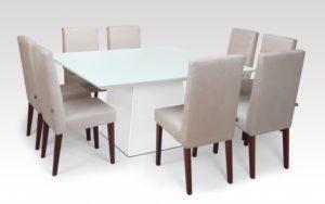 Mesa de Jantar Quadrada Elisa