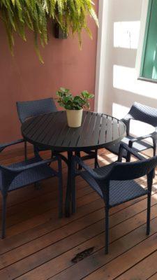 Mesa de Jantar para Área Externa Domus