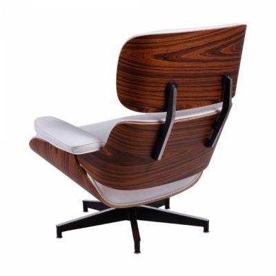 Poltrona Charles Eames em Couro Ecológico