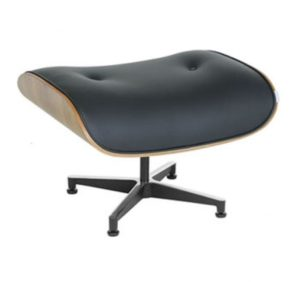 Puff Charles Eames Couro Natural