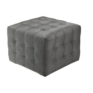 Puff Quadrado Grey