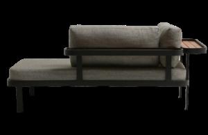 Sofá Chaise para Área Externa Tab
