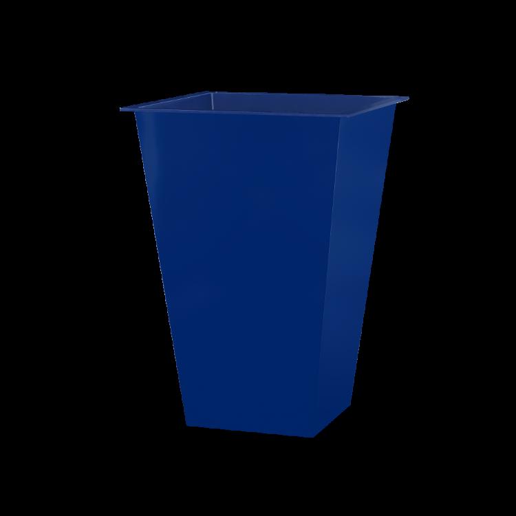 Vaso Alto Quadrado Azul Claro Oka