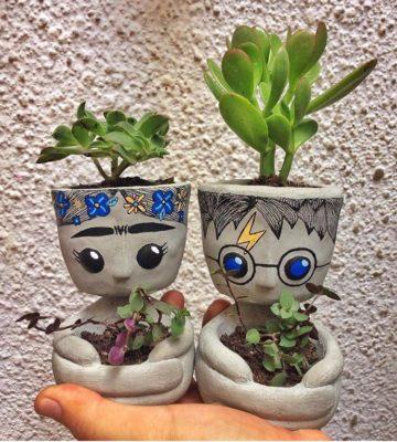 Vaso Decorativo Frida Kahlo