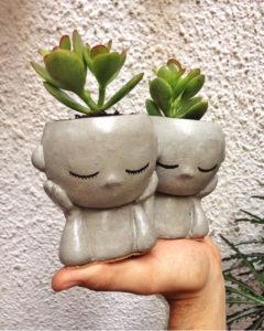 Vaso Decorativo Paz e Amor