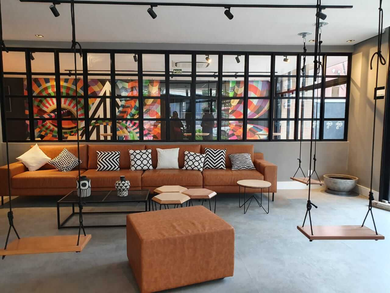 - Empreendimento: Studio CB - ProjetoWB Arquitetura (Fotos: Elvira Forttuna @elviraforttuna) - Áreas comuns do prédio