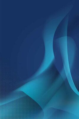 Quadro Abstrato Azul Raabe