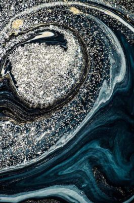 Quadro Abstrato Blue