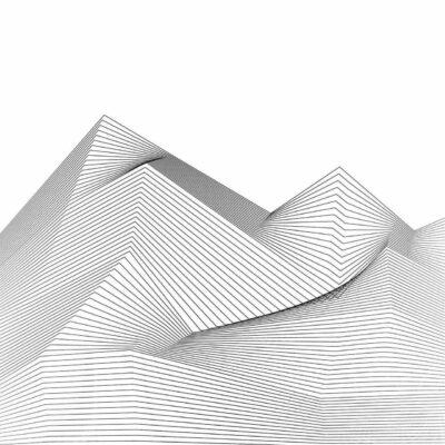 Quadro Abstrato Climb