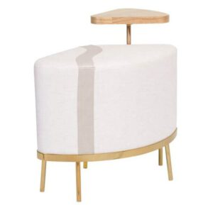 Puff com Mesa Lateral Scarlet