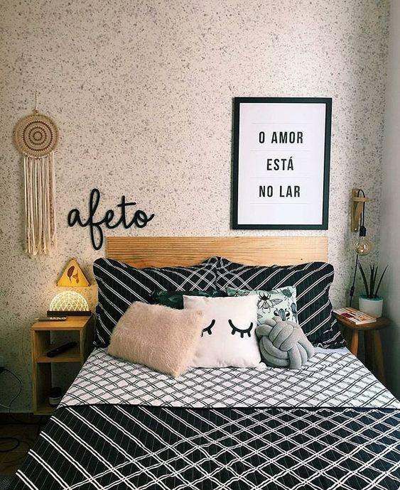 decoracao quarto de casal pequeno 1