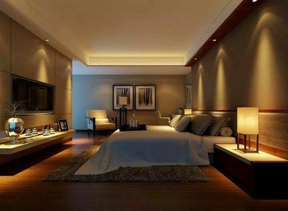iluminacao quarto de casal