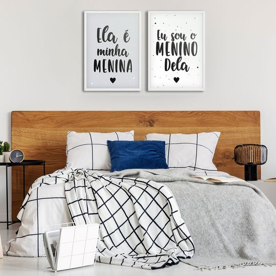 quarto de casal romantico