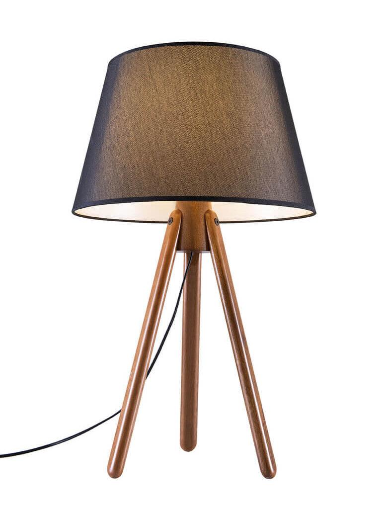 Luminária de Mesa Black Aslam
