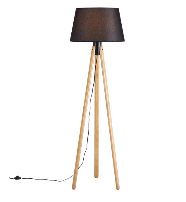 Luminária de Piso Black Aslam