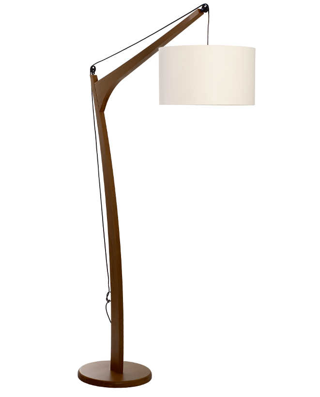 Luminária de Piso Imbuia Nieck