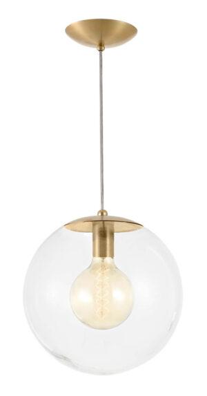 Luminária de Teto Pendente Dourada Zayan