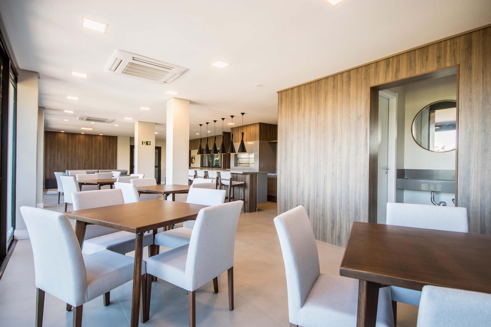 Empreendimento: RARO - Móveis para as áreas comuns do condomínio - Projeto: Raul Pêgas Arquitetos Associados
