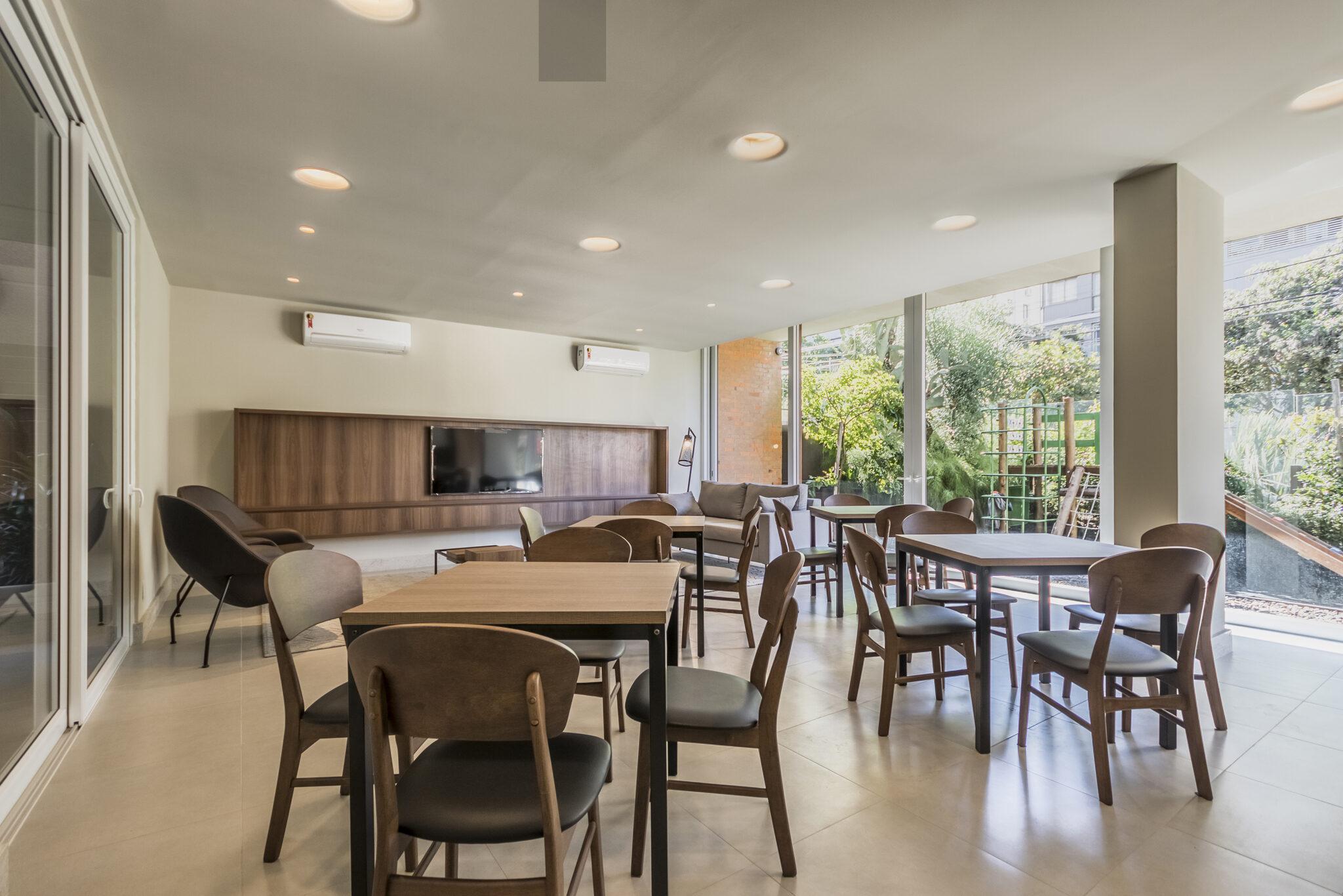Empreendimento: Adágio - Móveis para o salão de festas - Fotógrafo: Fábio Carvalho